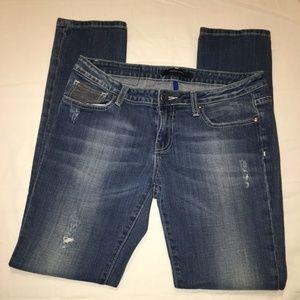 Vigoss Studio Jeans Womens 11/12 32X31 Distressed